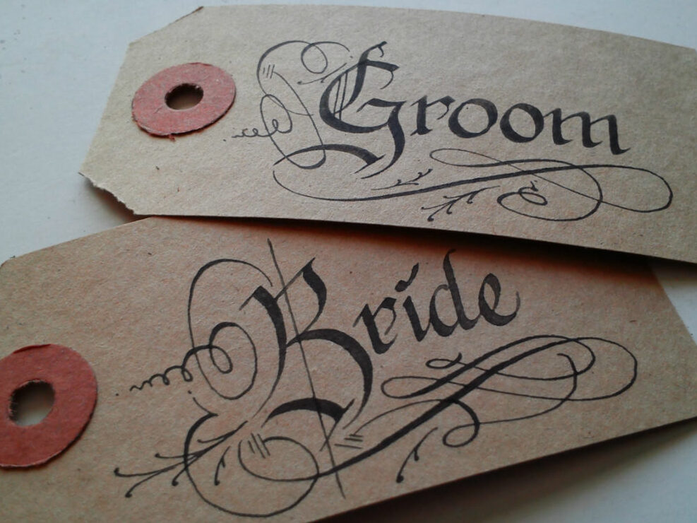 weddingfavourtags-CalligraphybyJagdeepSahans-weddingcalligraphyireland